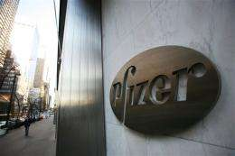 Pfizer 2Q net income rises 25 pct on lower costs