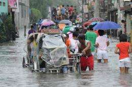 Philippine officials and international experts say the growing intensity of annual typhoons is due to climate change