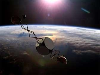 Project aims to remove space debris