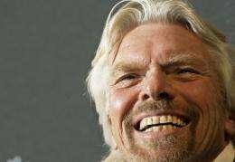 """Richard Branson congratulates """"incredible"""" Cameron dive"""