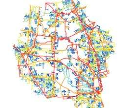 Road map provides insight to urbanization phenomenon