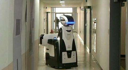 Robot guards being tested in South Korea