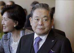 Samsung family in public spat over inheritance (AP)