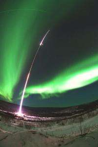 Scientists launch rocket into aurora
