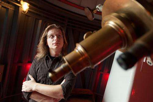 Scientist uses imaging skills to increase public's knowledge of astronomy