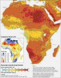 Screening Africa's renewable energies potential