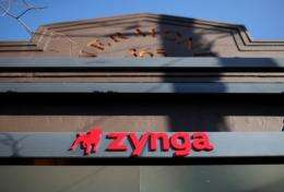 Social games maker Zynga on Monday announced that it bought California-based A Bit Lucky