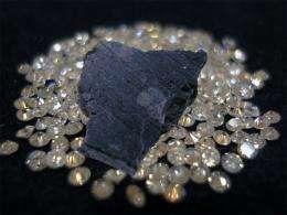 Space diamonds reveal supernova origins