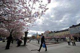 Stockholm registered its coldest June weekend in 84 years