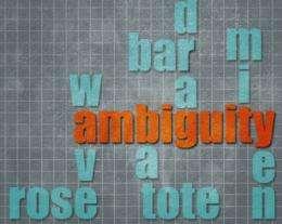 The advantage of ambiguity