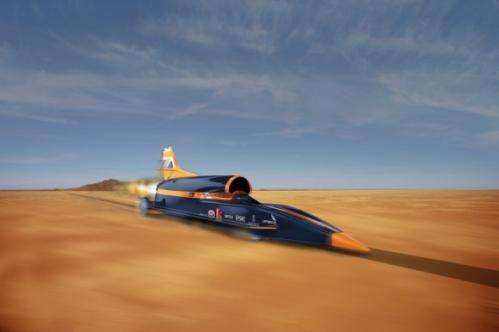 The Bloodhound SSC: Faster than a bullet