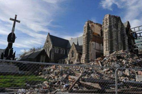 The Christchurch earthquake was not caused by the Alpine Fault but a previously unknown fault line