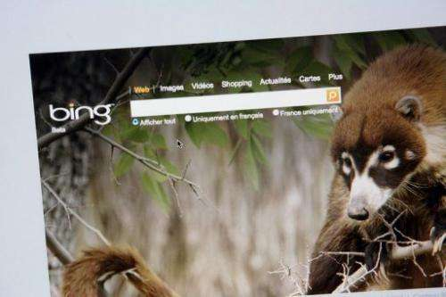 "The new version of Bing introduced a ""social sidebar"""