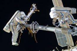 There are 6 ISS crew Kononenko (L), Shkaplerov (R) and Anatoli Ivanishin Dan Burbank, Don Pettit and Andre Kuipers