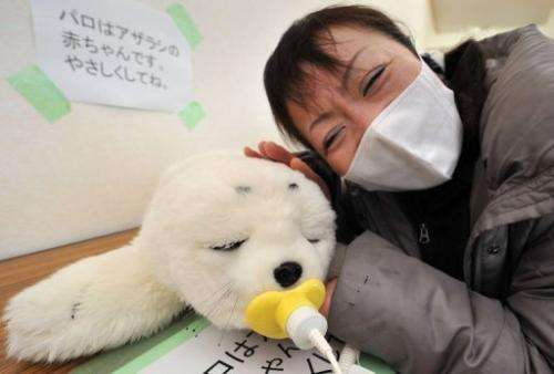 The seal, equipped with tactile and audio sensors, has been used in hospitals and nursing homes as a therapeutic aid