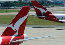 The Twitter account, @QantasPR, was started following the airline's grounding of its worldwide fleet last October