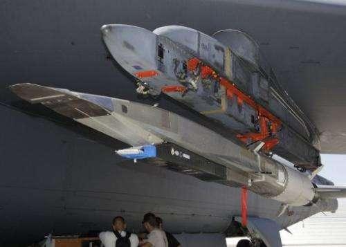 The X-51A WaveRider hypersonic flight test vehicle