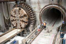 Tunnel construction completed