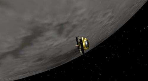 Twin Grail spacecraft reunite in lunar orbit