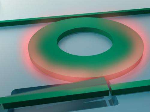 Using light to control light: Engineers invent new device that could increase Internet download speeds
