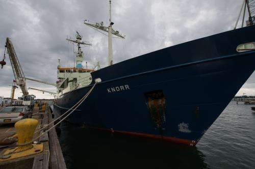 Voyage to explore link between salinity and climate