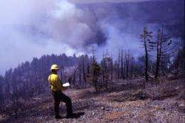 Washington's forests will lose stored carbon as area burned by wildfire increases
