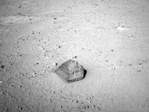 Weird Mars Rock Has Interesting Back Story