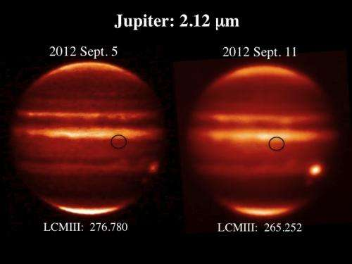 What caused the recent explosion at Jupiter?
