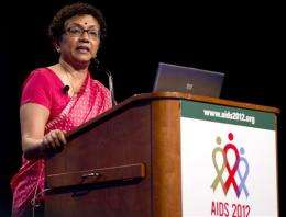 WHO: On track to 15 million on AIDS drugs by 2015