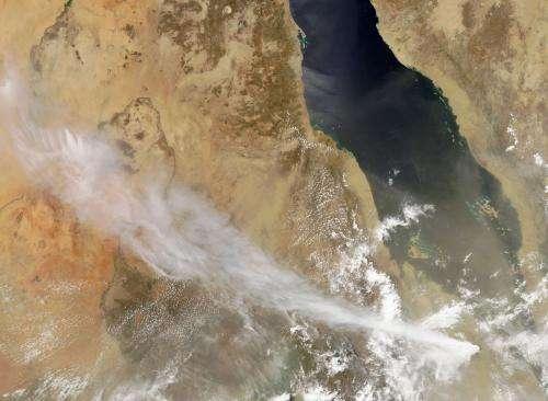 Violent Nabro eruption shown to pierce stratosphere