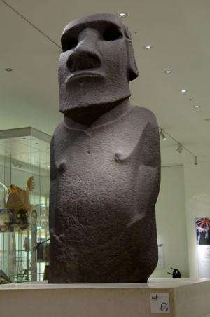 Archaeologists shine new light on Easter Island statue