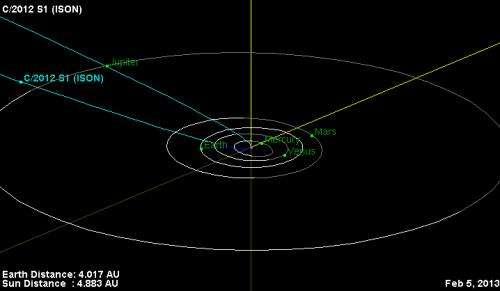 Comet debuting in new Deep Impact movie expected to star this winter