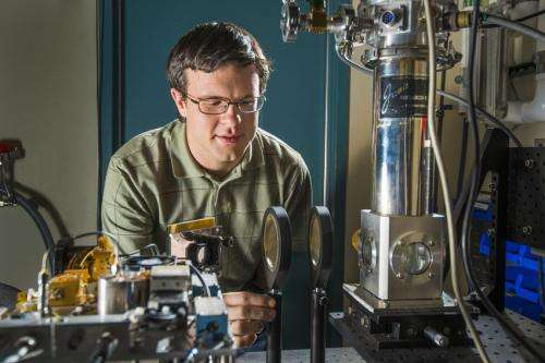 Plasmonic crystal alters to match light-frequency source