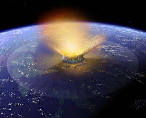Dartmouth researchers say a comet killed the dinosaurs