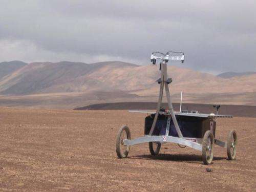 Dry run for the 2020 Mars mission