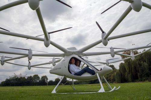 Electric two-seater Volocopter is tested in Germany (w/ Video)