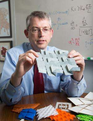 Engineers turn to origami to solve astronomical space problem (w/ Video)