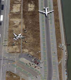 Foreign airlines urged to use GPS at San Francisco