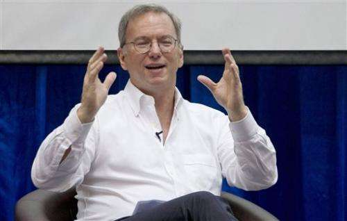 Former Google CEO shares vision in tech treatise
