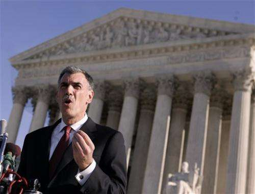 High court weighs drug companies' generics policy