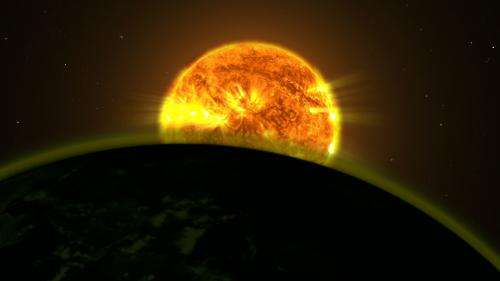 Hubble traces subtle signals of water on hazy worlds
