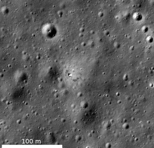 LROC coordinates of robotic spacecraft 2013 update