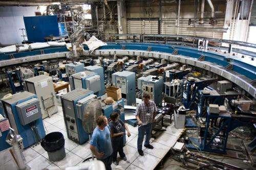 Massive particle storage ring to begin 3,200-mile trek on Sunday
