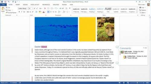 Microsoft retools Office for touch screen, Web use
