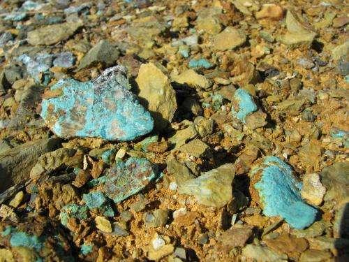 Mine metals at Maine Superfund site causing widespread contamination