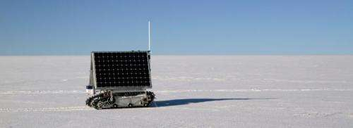 NASA's polar robotic ranger passes first Greenland test