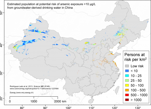 New risk model sheds light on arsenic risk in China's groundwater
