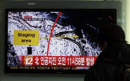 North Korea apparently conducts third atomic test