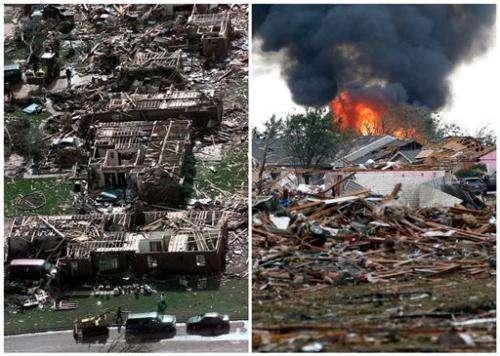 Oklahoma twister tracked path of 1999 tornado