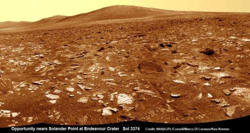 Opportunity mountain goal dead ahead as Mars orbiter restarts critical targeting hunt for habitability signs
